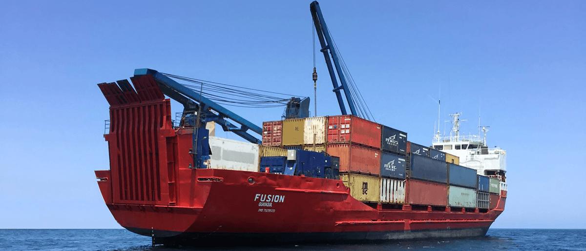 Pacific Cargo Line - MV Fusion Galapagos