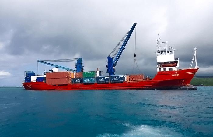 Pacific Cargo Line - MV Fusion